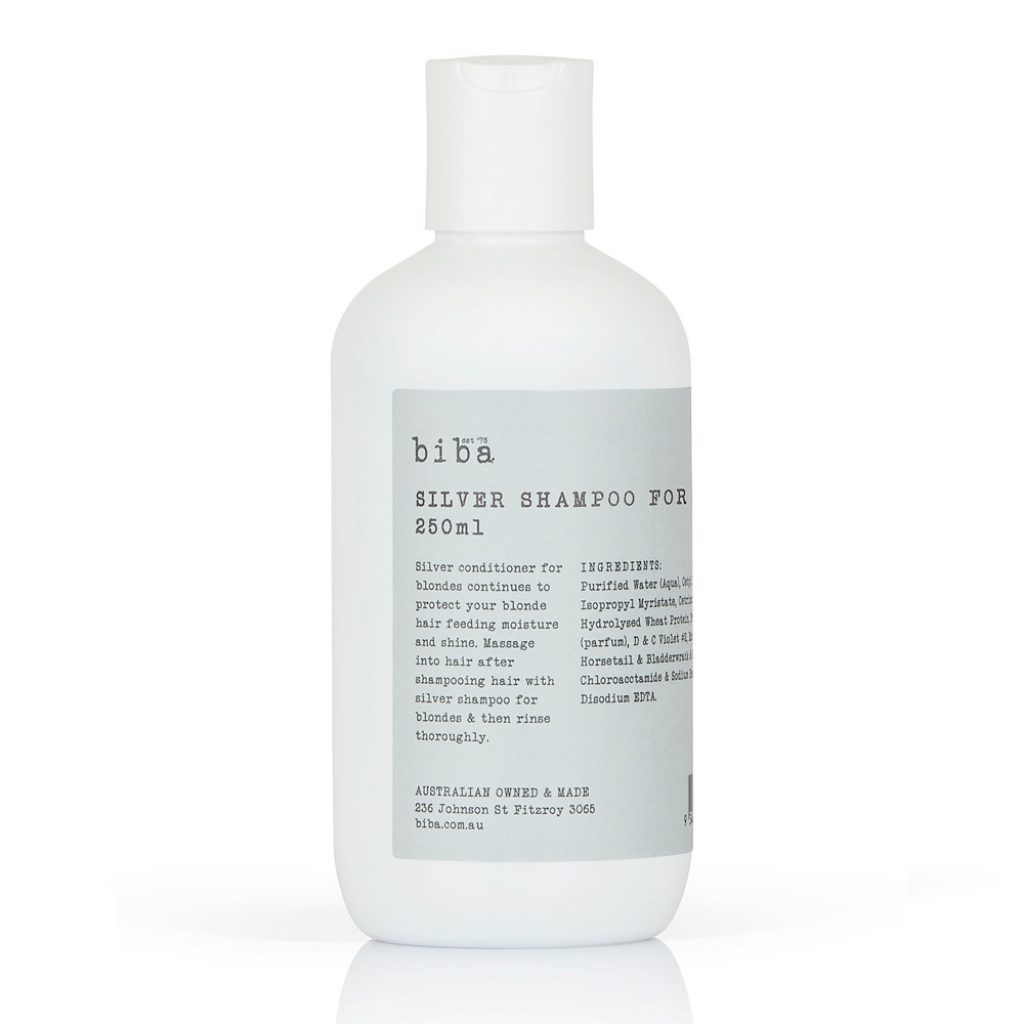 BIBA Silver Shampoo for Blondes